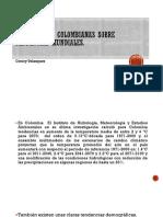 Perspectivas Colombianas Sobre Tendencias Mundiales