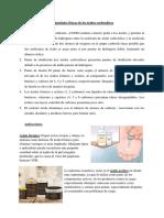Propiedades Físicas de Los Ácidos Carboxílicos