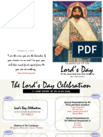 Sample of Program for The Lord's Day