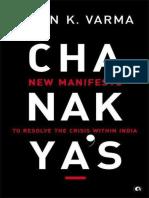 Pavan Varma - Chanakya New Manifesto