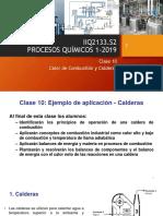 Calderas (Ejemplos de aplicación)