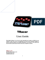TRacer Symbian User Guide
