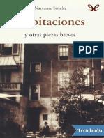 Habitaciones y otras piezas breves - Natsume Sseki.pdf