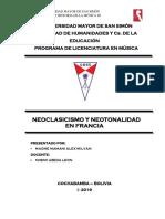 Neoclasicismo Inform