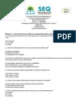 Examen de Recuperacion Trimestre 1 y Clave 2018-2019 Segudno Grado