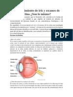 Reconocimiento de Iris y Escaneo de Retina