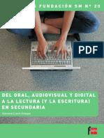Lluch DEL ORAL, AUDIOVISUAL Y VIRTUAL A LA LECTURA Y ESCRITURA EN SECUNDARIA.pdf