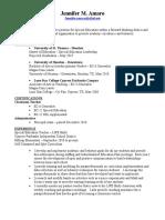 portfolio version - amaro administrative resume 2019