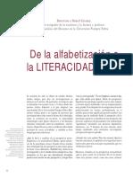 De La Alf a La Literacidad Critica- Cassany