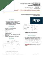 Laboratorio Dispositivos Activos - Amplificador mosfet con alimentación común.pdf