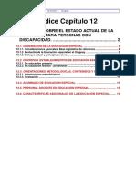 12- Informe Sobre El Estado Actual de La Educación Para Personas Con Discapacidad