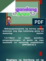 Calendar Ng Pagtatanim EPP 5 Q1