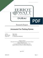 Smart Parking System