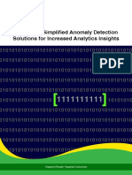 Anomaly Detection Solutions for Increased Analytics Insights