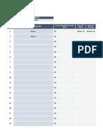 Modelo de Planilha Físico-Financeiro - Guia Da Engenharia