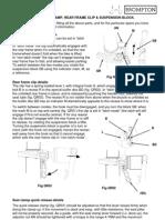 Workshop - Brompton Anti-flop Clip Installation