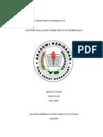 Contoh Soal Kasus Dokumentasi Kebidanan (Indy Fiani)