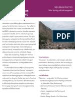 Desarrollo Urbano Sustentable - Banco Mundial
