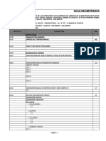 METRADOS MÓDULO SS.HH. ADULTO-DISCAPACITADO - I.E.I. N° 071 - LA BANDA DE CHAZUTA