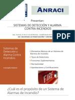 Detección y alarma incendio