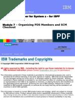 RDz Workbench Module 7 – Organizing PDS Members and SCM Checkout