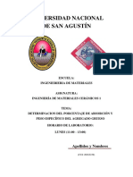 Practica 1 determimacion del peso especifico y porcentaje de absorcion del agregado grueso