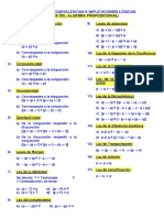 Leyes Algebra Proposicional