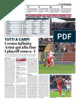 La Provincia Di Cremona 29-04-2019 - Tutti A Carpi