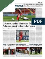 La Provincia Di Cremona 29-04-2019 - Polpacci & Nuvole