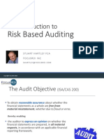 Introduction to Risk Based Auditing