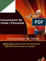 Comunicación No Verbal y Paraverbal