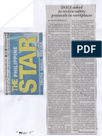 Philippine Star, Apr. 29, 2019, DOLE asked to review safety protocols in workplaces.pdf