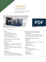 MTU18V2000DS1400 Prime Power