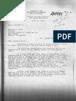 Letters of U.S. Embassy Robert Heafner to Mariano Mison and Teofisto Guingona