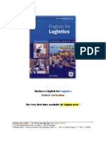 Business English for Logistics - Oxford