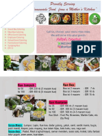 Aafiyah Catering Booklet