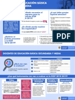 Docente de Basica Secundaria y Media Ecdf 2018-2019