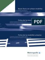 Ficha de Movilidad Urbana - Metrópolis