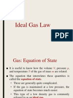 Lecture #10 Ideal Gas Law