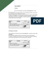 Apuntes Sobre Cheques