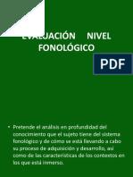EVALUACIÓN  FONOLÓGICA