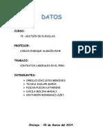 Contratos Laborales en El Perú