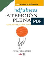 Mindfulness Atención Plena Haz Espacio en Tu Mente