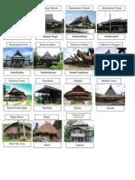 Traditional House of Kalimantan