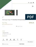 B&H Photo Video - Blackmagic Design 17&Quot; Smartview Hd Studio Monitor (1)