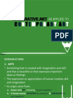 Integrative Art as Applied to Contemporary Art-ethnic