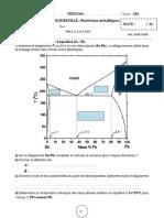 Pages Extraites de Examens Corriges Sciences Des Materiaux