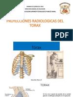 Proyecciones Radiologicas Del Torax