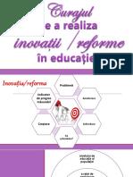 Curajul de a realiza Inovații în Educație