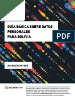 Guia Basica Proteccion de Datos Bolivia